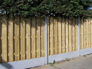 Fencing in Dublin, Colourtrend Sheds
