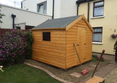 timber shed Dublin, Colourtrend sheds